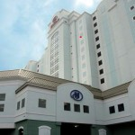 Stucco or EIFS? The continuous insulation on this Hilton Suites answers the question.