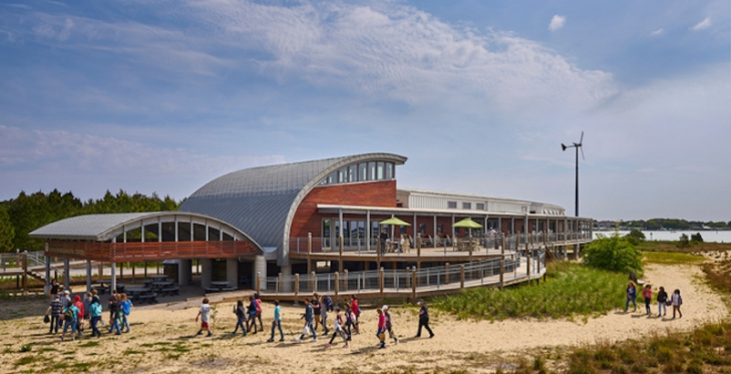 The Chesapeake Bay Foundation's Brock Environmental Center, Virginia Beach, Va., is only the eleventh building to earn Living Building Challenge status. It generated 83% more energy than it used over the past year.