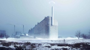 The The Amager Resource Centre, Photo: Bjarke Ingels Group