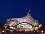 Centre Pompidou Metz by Shigeru Ban Architects, in Metz, France -- an art museum but also a community center and public forum.