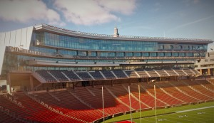 The newly-renovated Nippert Stadium at the University of Cincinnati incorporated StoTherm ci XPS in several of the wall structures.