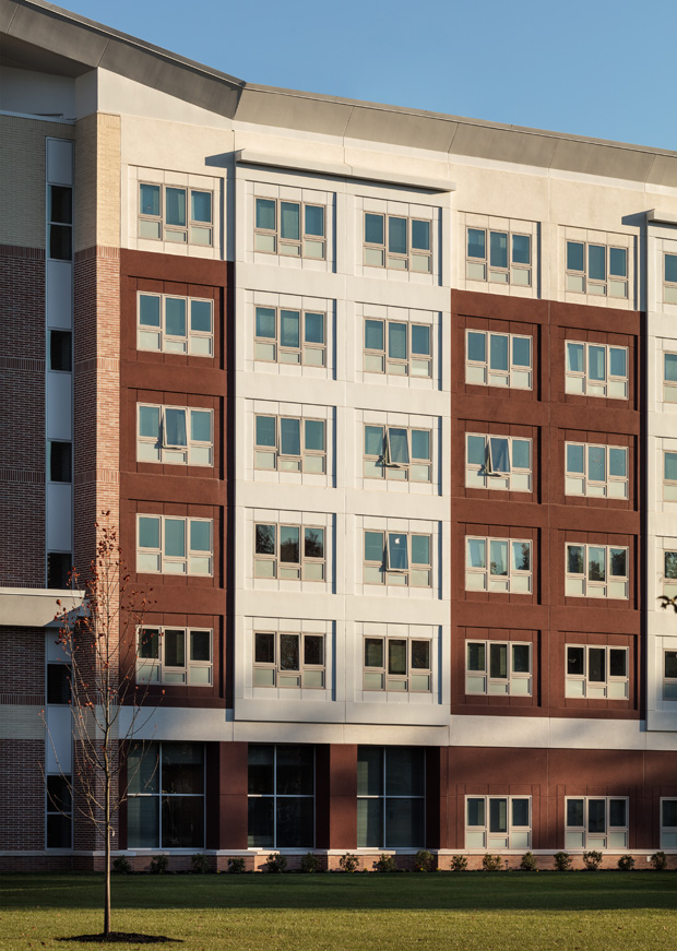 Kean University Residence Hall uses StoPanel technology