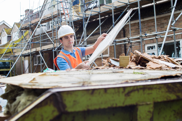 Reducing construction waste