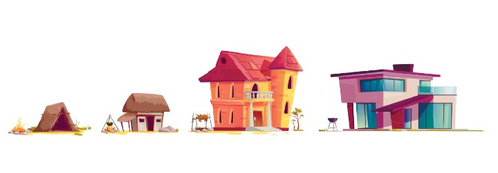 evolution of the building envelope