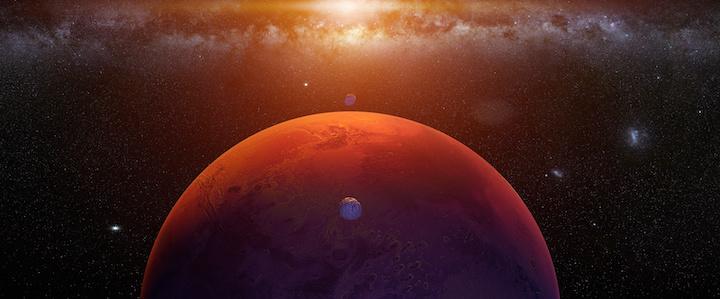 construction on Mars